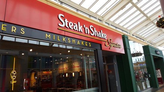 Paramus, نيو جيرسي: Steak n Shake - Paramus NJ