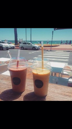 Camps Bay, South Africa: Juices