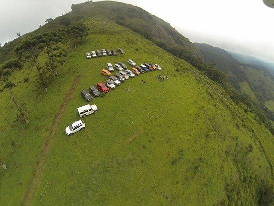 Sapucai-Mirim, MG: No topo da Pedra do Jair