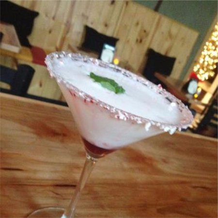 Marblehead, OH: Peppermint Martini