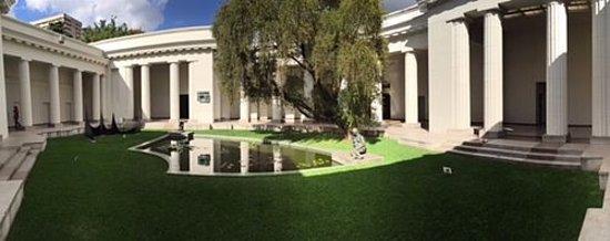 Museo de Bellas Artes: PATIO CENTRAL DEL COMPLEJO NEOCLASICO