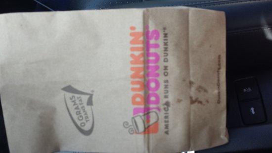 วอเตอร์โบโร, เซาท์แคโรไลนา: Dunkin Doughnuts