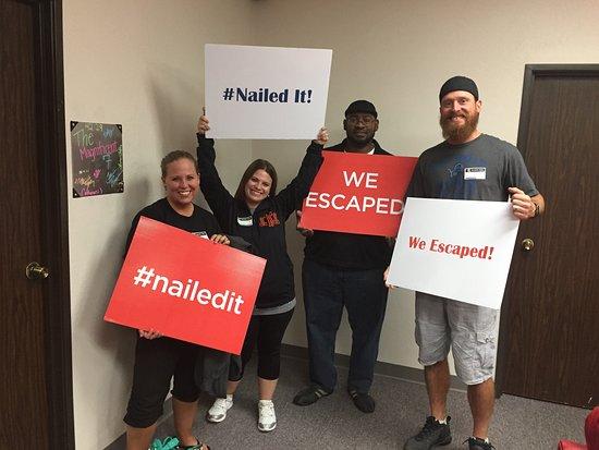 Farmers Branch, TX: We Escaped!
