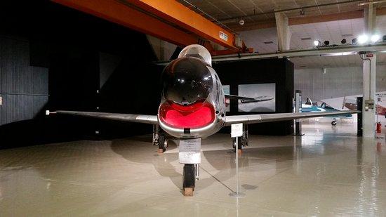 Volandia Parco e Museo del Volo Malpensa: aviogetto militare