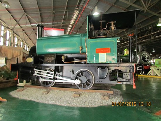 George, África do Sul: Early day shunter
