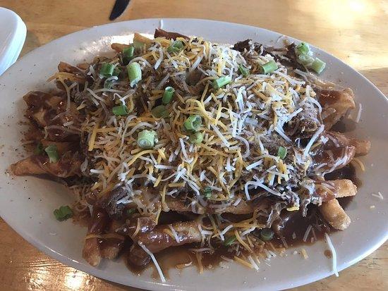 Bay Saint Louis, MS: Gravy fries