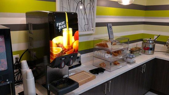 Gardena, Καλιφόρνια: Café da manhã