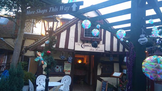 Steyning, UK: Cobblestone Tea Rooms