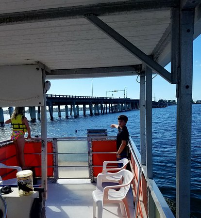 Cortez, FL: Kids on the water at YOLO Adventures