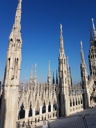 Sulla Terrazza del Duomo - Picture of Duomo Rooftops, Milan ...