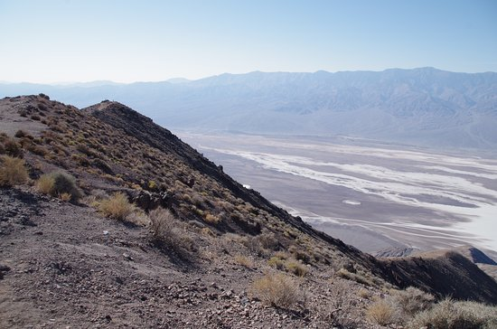 Dante's View: Looking south down Death Valley south of Badwater