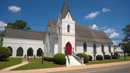 Quincy, FL: St. Paul's Episcopal Church - at the corner of W. King and N. Adams