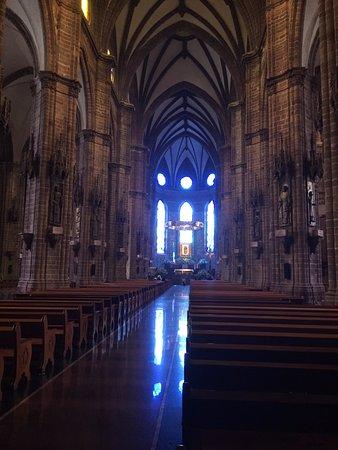 Zamora de Hidalgo, เม็กซิโก: vista del atrio de la catedral de zamora
