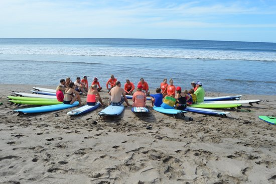Tola, Nicaragua: Surf lesson