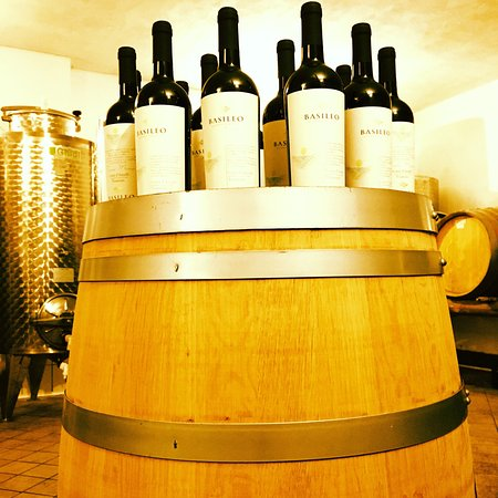 Tramonti, Italia: Wine Basileo