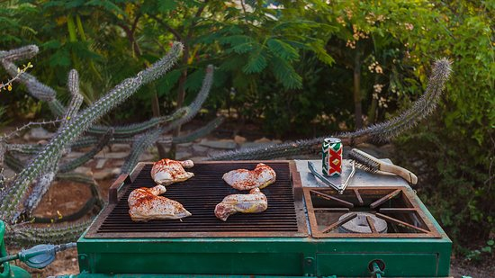 CalyCanto Casitas: each casita has a gas grill