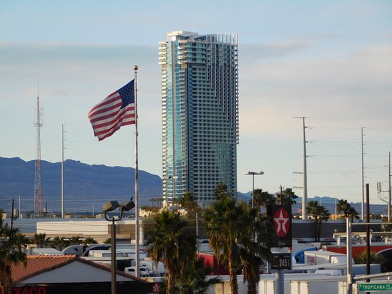 Budget Suites of America Tropicana I-15 : Palms from Building G
