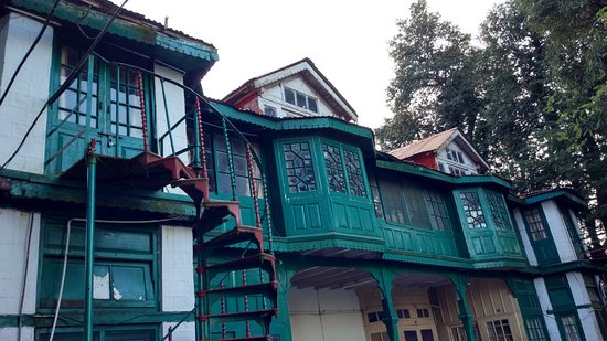 Mehar's : Another side of the hotel