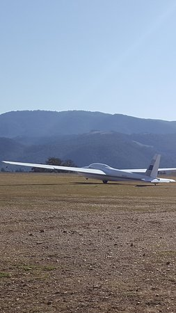 Santa Ynez, CA: Perfect day for a glider ride!