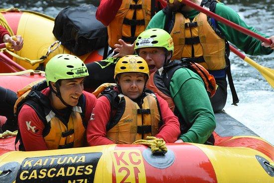 Okere Falls, Nueva Zelanda: I wasn't scared, honestly