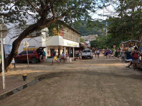 Taganga, Colombia: calles