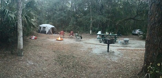 Ocala National Forest: Very Good sized Campsite