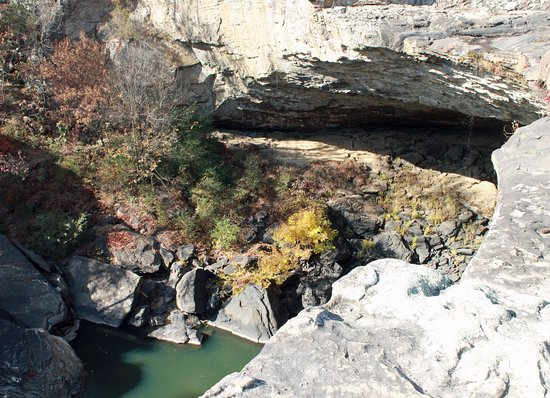 Noccalula Falls Park & Campground: Views from bridge