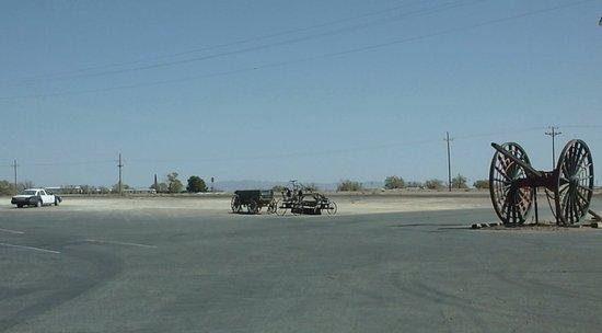 Amargosa Valley, NV: côté parking
