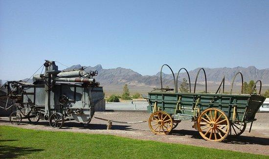 Amargosa Valley, NV : extérieur côté montagne