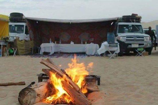 Bawiti, Egipto: white desert camping