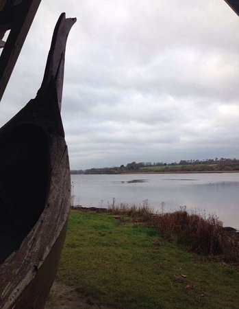 County Wexford, Irland: Viking boat