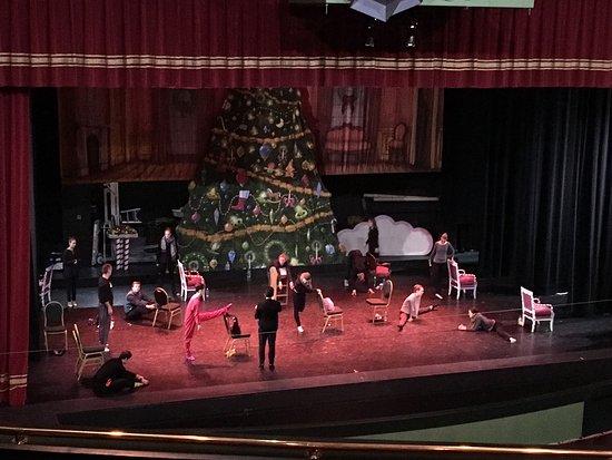 Alberta Bair Theater for the Performing Arts: Nutcracker rehearsal