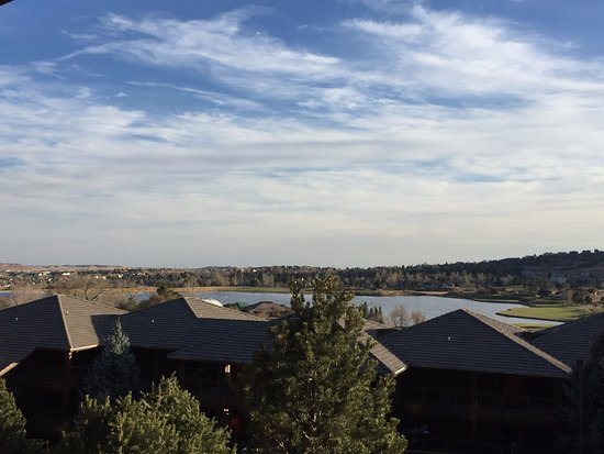 Cheyenne Mountain Resort: Looking out from the balcony