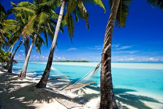 Cook Islands: Front row seats of Aitutaki Lagoon