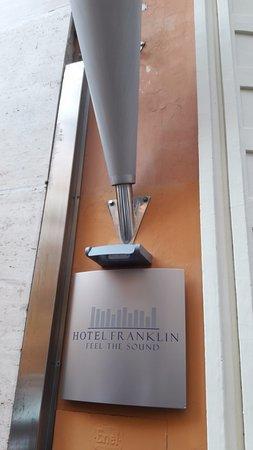 Hotel Franklin Feel The Sound: Entrata dell'hotel