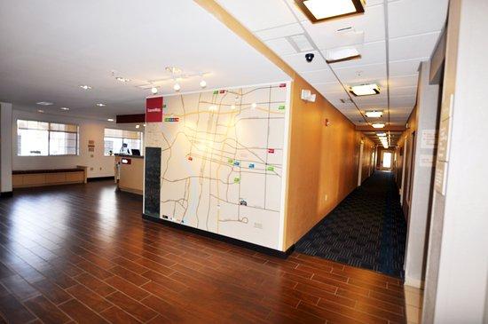 TownePlace Suites Albuquerque Airport : TowneMap