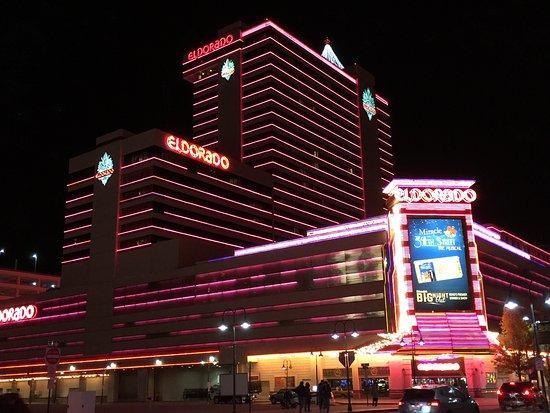 Eldorado Resort Casino: Eldorado Hotel & Casino, at night
