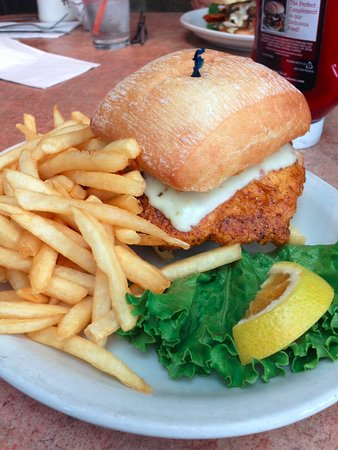 Blaine, WA: chicken burger