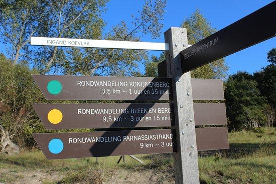 Overveen, Países Baixos: Routes