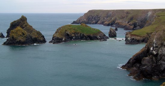 Lizard, UK: view towards Kynance Cove