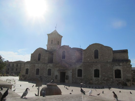 Mariandy Hotel: Церковь Святого Лазаря.