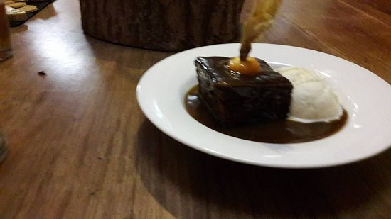 Onich, UK: Amazing Sticky Toffee Pudding