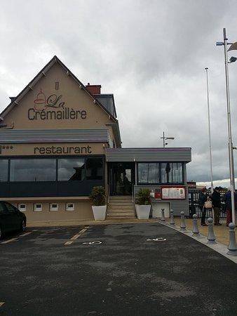 Courseulles-sur-Mer, France: Fachada do restaurante