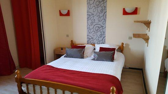 Hotel O Fil de l'O: chambre N° 5 : 1 lit double 1/2 personnes