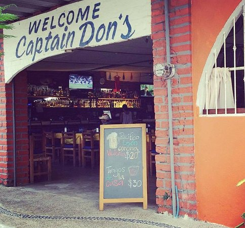 Captain Don's: join us!