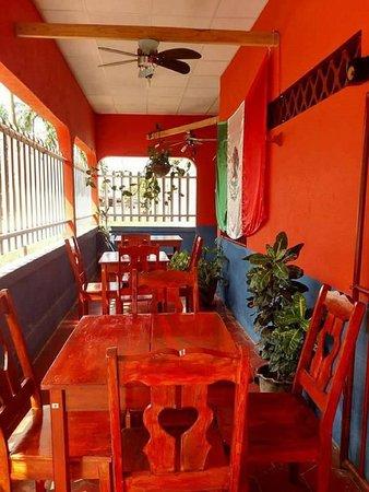 Mexico Lindo Restaurante Y Hospedaje: New Location (part Of The Inside)