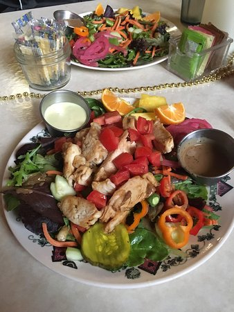 Stayton, Oregón: Delicious Salads!!