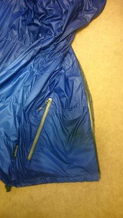 Mold, UK: one ruined jacket