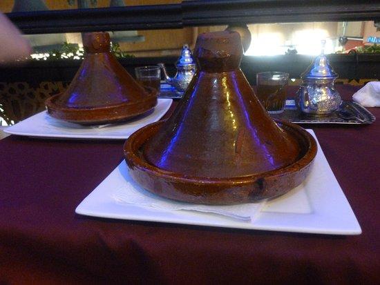 Restaurant Mabrouka: Tagines - standard
