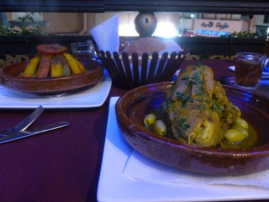 Restaurant Mabrouka: Moroccan dinner